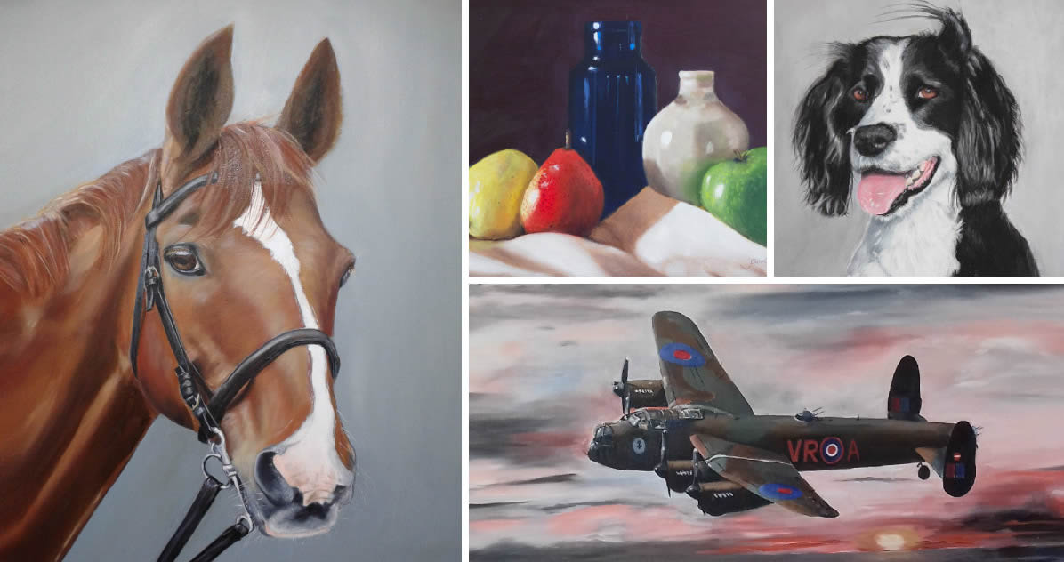 Jacqueline Todd Artist Thatcham Newbury Berkshire available for commissions